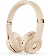 Beats by Dr. Dre Solo3 Wireless On-Ear Headphones - Satin Gold,(Brand New)