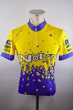 novo bike vintage Bike cycling jersey maglia maillot Rad Trikot M BW 50cm S3