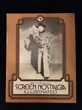 Alan Barbour Screen Nostalgia Illustrated-Salute To William Elliot-Western 1975