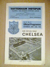 Written-on Tottenham Hotspur Teams S-Z Football Programmes