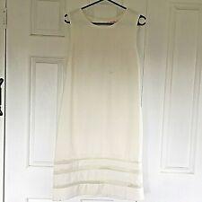 Pink Ruby White  Sleeveless Sheath Zip up Dress size 12 NWT Formal Business