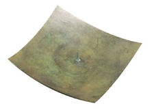 Northern Lights Candles Candle Holder Small Square Rustic Green Kobe