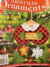 Christmas Ornaments 2003 Craft Magazine-81 Ornaments Using Cross Stitch/Painting