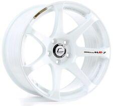 Cosmis Racing MR7 18x10 5X114.3 ET25 White Rims (Set of 4)