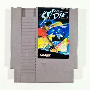 ©1985 NES Nintendo Entertainment System SKI OR DIE Pal-B Wintersport/Snowboard