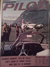 Private pilot magazine November 1961