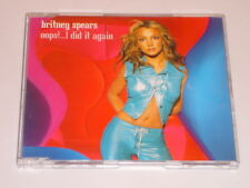 Britney Spears Oops...I Did It Again  3 Track  CD Single