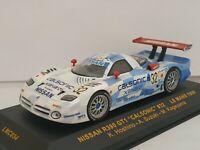 1/43 NISSAN R390 GT1 24H DU LE MANS 1998 HOSHINO SUZUKI IXO ESCALA SCALE DIECAST