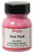 Angelus Brand Acrylic Leather Paint Waterproof all colors - 1 fl.oz