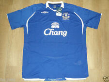 Camiseta de fútbol azul talla XXL