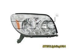 TYC NSF Certified Right Side Halogen Headlight Lamp for Toyota 4Runner 2003-2005