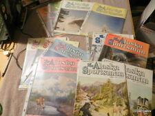 The Alaska Sportsman Magazine Hunting Fishing 1949 - 1954 Lot of 12 Free Shipped