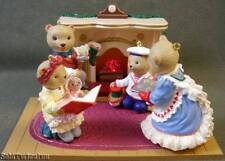 Hallmark Ornaments Bearingers Complete Collector Series 1-4 1 2 3 4 Fireplace