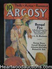 Argosy September 5, 1936 Woolrich/Guns for a gringo