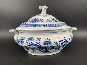 Hutschenreuther Zwiebelmuster Suppen Terrine TOP Zustand blue onion Bowl 12B11
