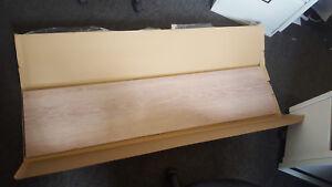 Loire Oak vinyl-wrapped MDF worktops