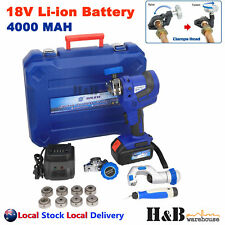18V Electric Power Flaring Flare Tools Kit Eccentric Copper Li-ion Battery