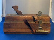 Antique Ward & fletcher moving fillister plane.