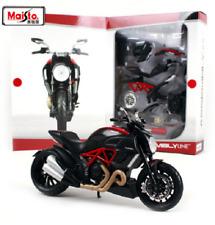 Maisto 1:12 Ducati DIAVEL CARBON Assemble DIY Motorcycle Bike Model KITS IN BOX