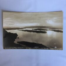 RPPC Real Photo Unposted Postcard Crown Point Columbia River Oregon