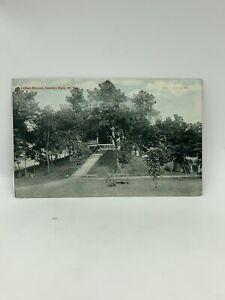 Indian Mound Camden Park  Huntington W Va Postcard