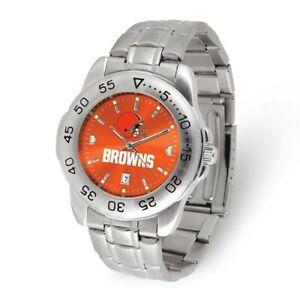 NFL Cleveland Browns Mens Sport Steel Watch Style: XWM3522 $68.90