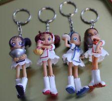 lot 4 porte clefs/ figurines héroines manga magical doremi neuf (no sailor moon)