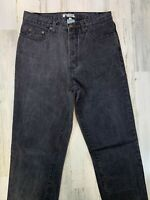 Vintage Guess Georges Marciano Black Jeans 32x36 Made in USA