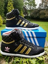 Adidas Originals Centinia Polka Dot Black Trainers Hitops UK 5.5 EU 38.7 item 52