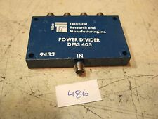 TRM DMS-405 1-2 GHz 4 Way Power Divider - SMA Used