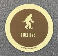 GREAT DIVIDE BREWING CO YETI I BELIEVE Coaster - 1 Coaster Brewery Beer