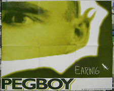 Pegboy Earwig promo Poster 1994 Quarterstick - 16 x 18 inch