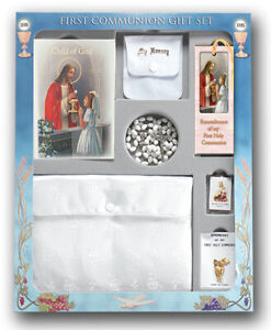 Communion Memories - Girl's -Edition 7 Piece Deluxe Communion Gift Set