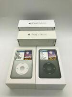 (Latest Mode) Apple iPod Classic 7th Generation 160GB Black Silver -Warranty