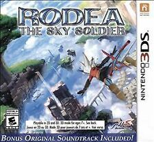 NEW Rodea the Sky Soldier (Nintendo 3DS, 2015)