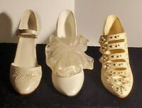 "TRIO-Vintage 1998/99 Just The Right Shoe ""Wedding"" HiHeel Shoes FREE SHIPPING"