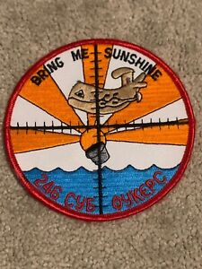 USAF Patch Bring Me Sunshine 246 Cy6 Oykepc