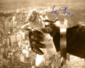 FAY WRAY in KING KONG 1933 Photograph Autograph 8x10 RP