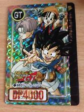 Carte Dragon Ball Z DBZ Carddass Hondan Part 26 #1 Reverse Prisme 1996