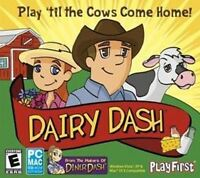DAIRY DASH  a Fun Strategy Farm Sim   PC XP Vista 7 8 10 Mac   Brand New Sealed