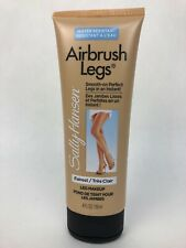 4oz SALLY HANSEN AIRBRUSH LEGS SMOOTH ON LEG MAKEUP FAIREST water resistant