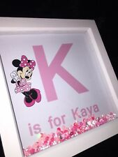 👦🏽👧🏼 Personalised Box Frame With Name & Character For Children's Bedroom.💕