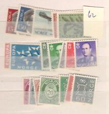 1962 MNH year , Noorwegen, Norway, Norge, Norwegen, Postfris**