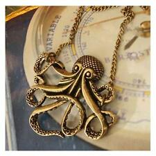 Pirates of the Caribbean Octopus Man Retro Long Necklace Vintage Jewelry Pirate*