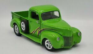 "1940 ""Green Thunder"" Ford Pickup Franklin Mint 1:24 Diecast"
