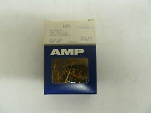 AMP 66360-4 CONTACT SOCKET 18-14AWG LOT OF 100 NEW