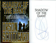 Orson Scott Card SIGNED AUTOGRAPHED Shadow of the Giant HC 1st Ed Enders Series