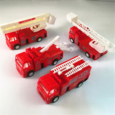 Pull Back Fire Truck Pretend Play Water Tanker Models Toys Kids Educational Toys