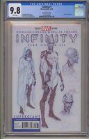 Infinity 1 2 3 4 5 6 CGC 9.8 Sketch Variant Avengers War Gauntlet Endgame 1-6
