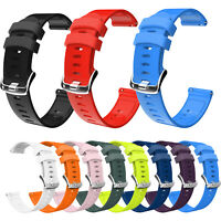 For Garmin Vivoactive 3/move/Forerunner 245 645 Silicone Replacement Strap Band